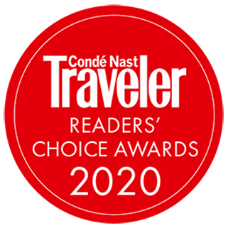 2020 Conde Nast Traveler Readers Choice Awards