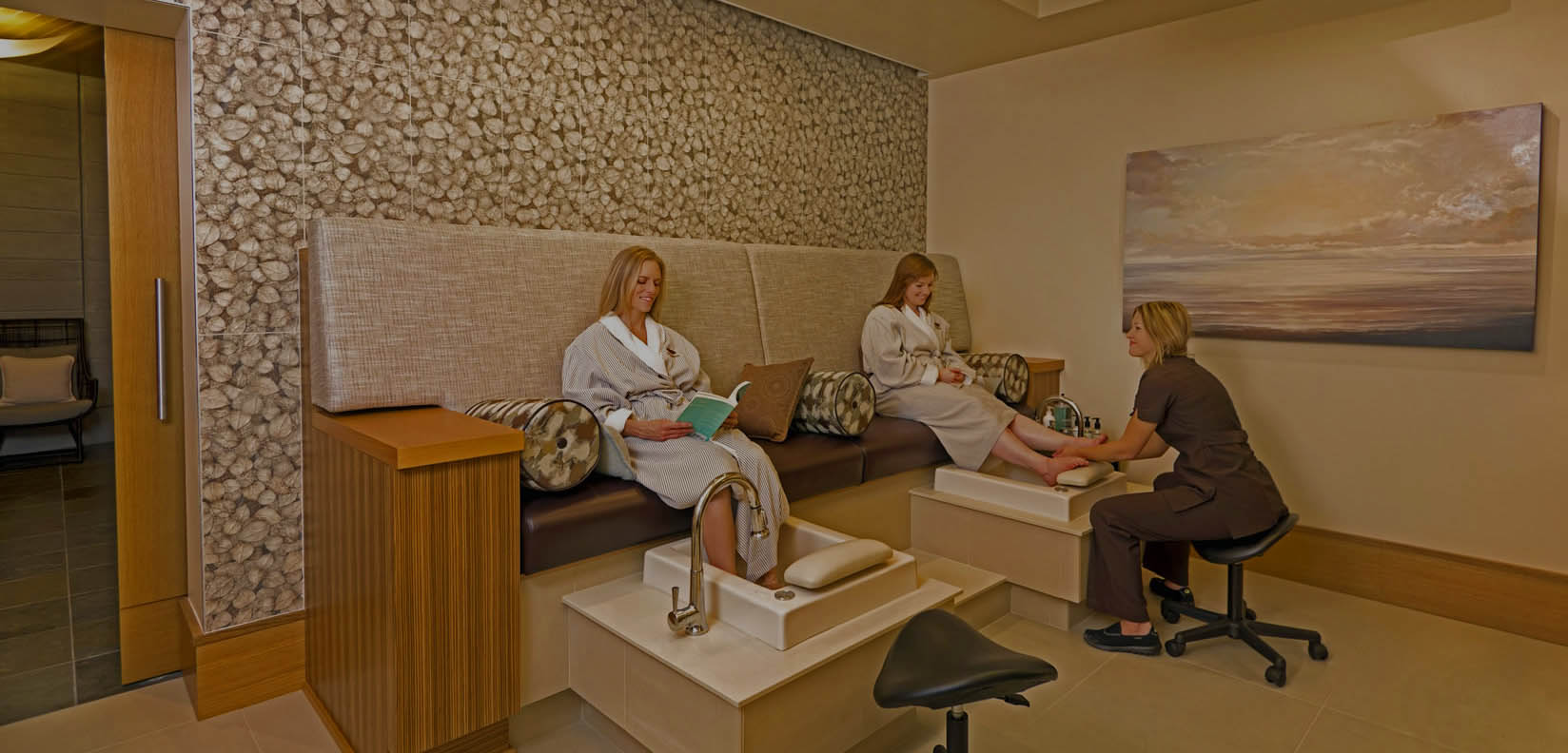 spa pedicure room
